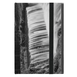 Spring Falls At Hodgson Grayscale iPad Mini Cover