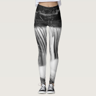 Spring Falls At Hodgson Grayscale Leggings