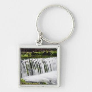 Spring Falls At Hodgson Keychain