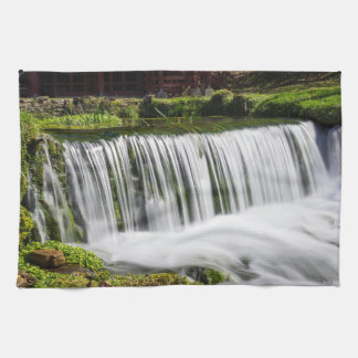 Spring Falls At Hodgson Kitchen Towel