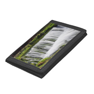 Spring Falls At Hodgson Tri-fold Wallet