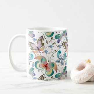 Spring Fantasy Butterfly Collection #14 Coffee Mug