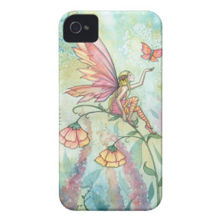 Spring Fantasy Fairy Butterfly Art iPhone 4 Case