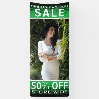 Spring Fashion Sale Banner