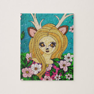 Spring Faun Jigsaw Puzzle