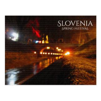 Spring Festival, Slovenia Postcard