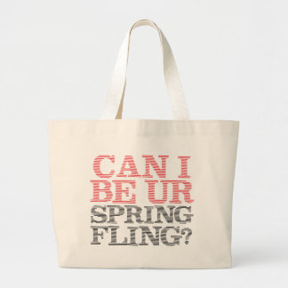 Spring Fling Canvas Bags