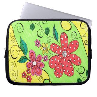 Spring Fling Electronic Bag Laptop Sleeves