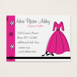 Spring Fling Fashion Business Card