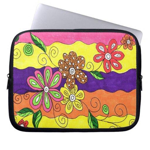 Spring Fling II Electronic Laptop Bag Laptop Computer Sleeve