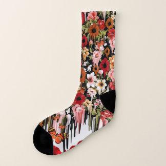 Spring Fling Melting Floral Socks 1
