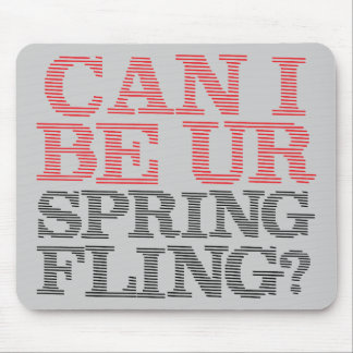 Spring Fling Mouse Pad