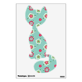 spring floral chic pattern wall sticker