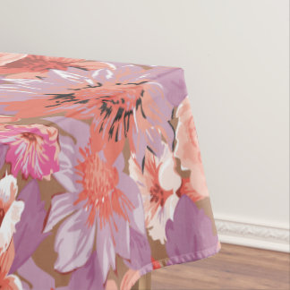 Spring Floral Colors Tablecloth