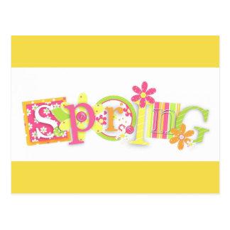 SPRING Floral Design  Postcard