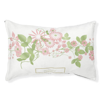 Spring Floral ID190 Small Dog Bed
