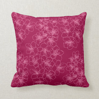 Spring floral pattern pillow, nice for home dec throw pillow