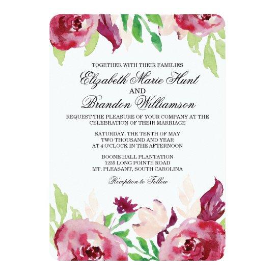Spring Florals | Invitation