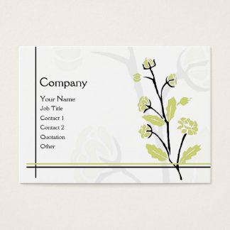 Spring FLower Business Card