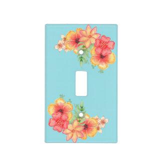 Spring Flower Garden Light Switch