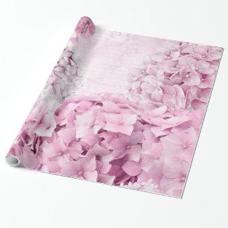 Spring Flower Hydrangea Pastel Collage