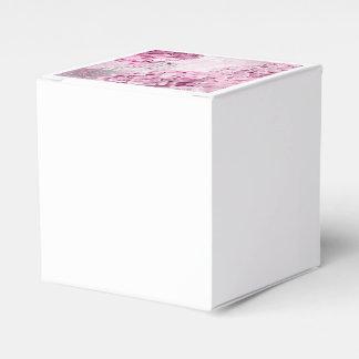 Spring Flower Hydrangea Pastel Collage Favor Box