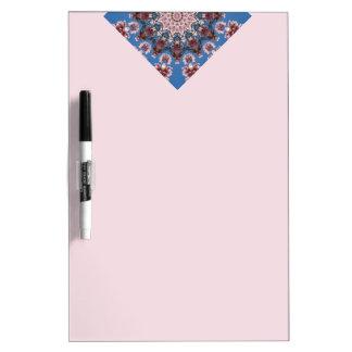 Spring, Flower-Mandala (Blumen-Mandala) Dry Erase Board