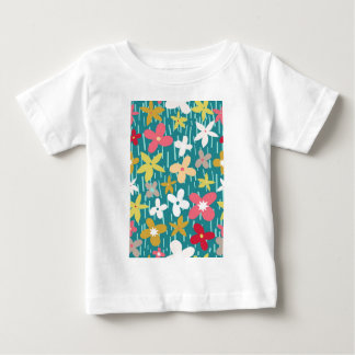 spring flower meadow baby T-Shirt