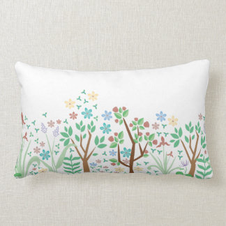 Spring Flower Pilow Lumbar Pillow