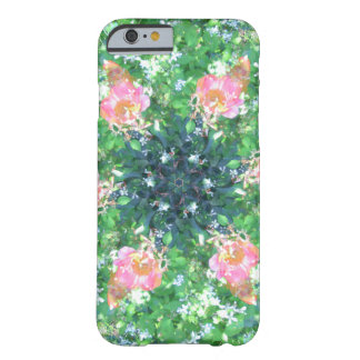Spring Flower Starburst Barely There iPhone 6 Case