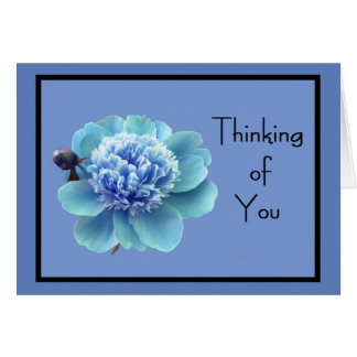 """Spring Flower 'Thinking of You"""" w/ Great Affection Card"""