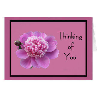 "Spring Flower 'Thinking of You"" w/ Great Affection Card"