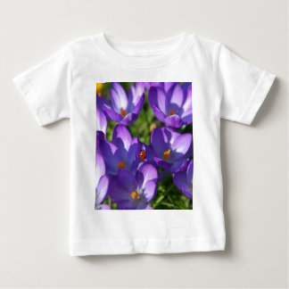 Spring flowers and ladybug baby T-Shirt