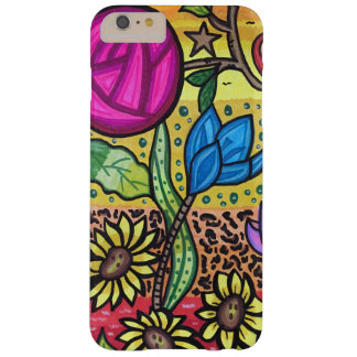 Spring flowers barely there iPhone 6 plus case