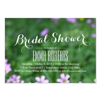 Spring Flowers Bridal Shower Invitations