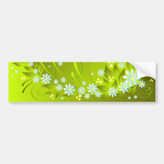 spring flowers bumper stickers