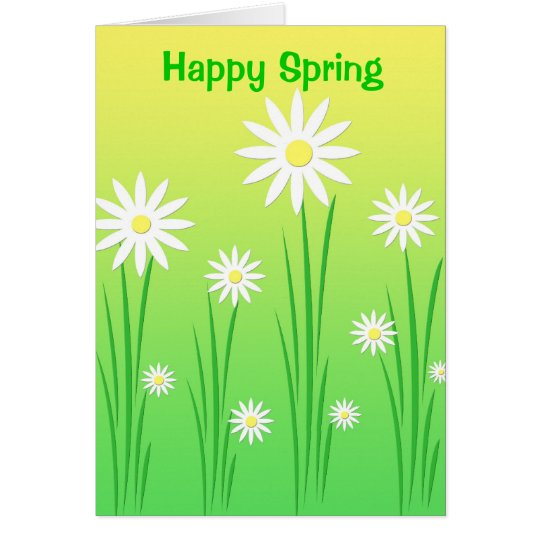 Spring flowers - Card
