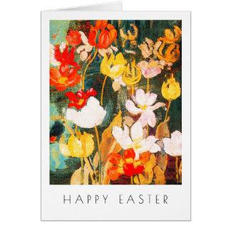 Spring Flowers. Fine Art Custom Easter Cards