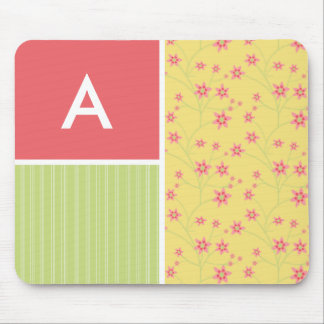 Spring Flowers; floral Mouse Pads