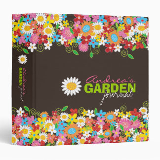 "Spring Flowers Garden Journal 1.5"" Binder"