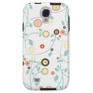 Spring flowers girly rustic chic floral pattern