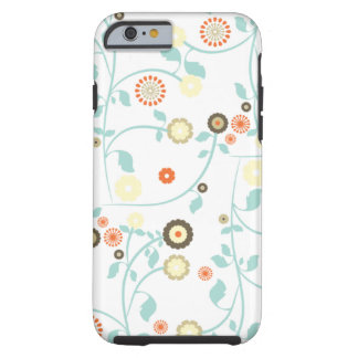 Spring flowers girly rustic chic floral pattern tough iPhone 6 case