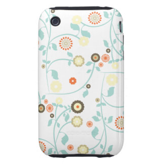 Spring flowers girly rustic chic floral pattern iPhone 3 tough covers