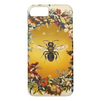 SPRING FLOWERS HONEY BEE / BEEKEEPER BEEKEEPING iPhone 7 CASE