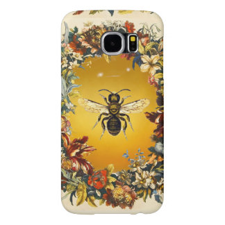 SPRING FLOWERS HONEY BEE / BEEKEEPER BEEKEEPING SAMSUNG GALAXY S6 CASES