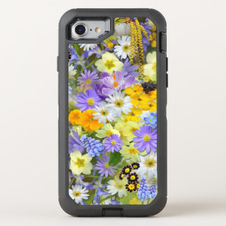 Spring Flowers iPhone 8/7 OtterBox Defender Case