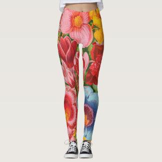 Spring Flowers Leggings