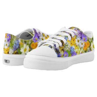 Spring Flowers Low-top Sneakers