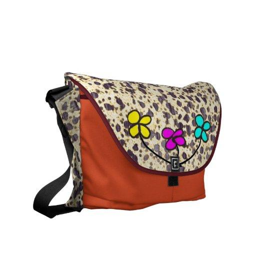 Spring Flowers Messenger Bags