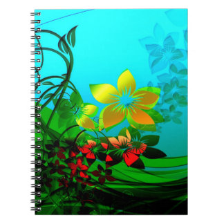 Spring Flowers Note Book